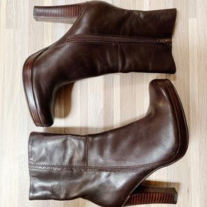 Charles By Charles David   Expresso Booties 6B